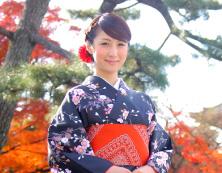 レンタル着物京都女子